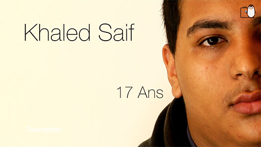 Mission locale : Portrait Khaled Saif