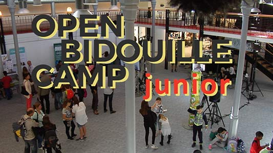Open Bidouille Camp Junior