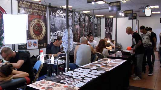 La convention Cézanne Tattoo Ink rassemble les grands noms du tatouage